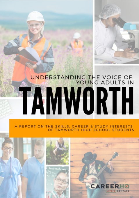 Tamworth career interests